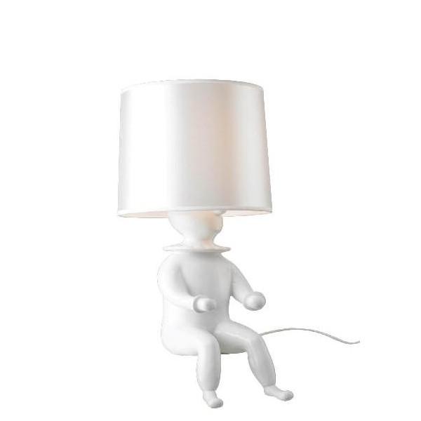 R plica l mpara de mesa joker l mpara clown shape for Replicas de lamparas